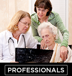 health professional or aged care professional